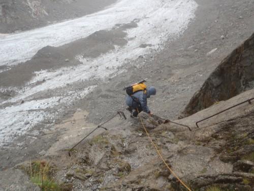 leschaux,grandes jorasses,mer de glace,glacier,montenvers